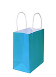 Kraft Bags Small - Beach Blue