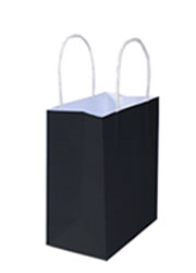 Kraft Bags Small - Jet Black