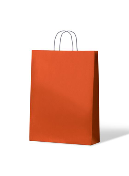 Kraft Bags Midi - Citrus Orange