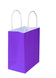 Kraft Bags Small - Passion Purple