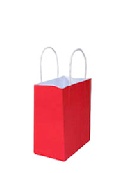 Kraft Bags Toddler - Radiant Red