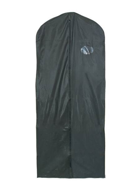 Black PEVA Suit Cover - Extra Length