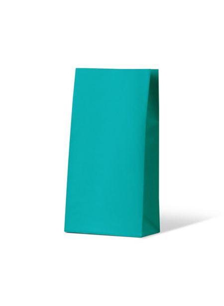 Colourful Gift Paper Bag - Medium - Beach Blue