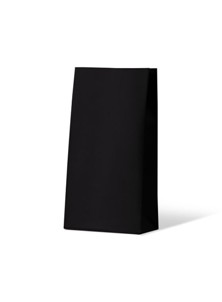 Colourful Gift Paper Bag - Medium - Midnight Black