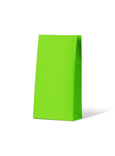 Colourful Gift Paper Bag - Medium - Loud Lime