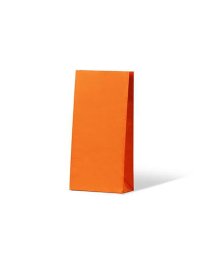 Colourful Gift Paper Bag - Medium - Citrus Orange