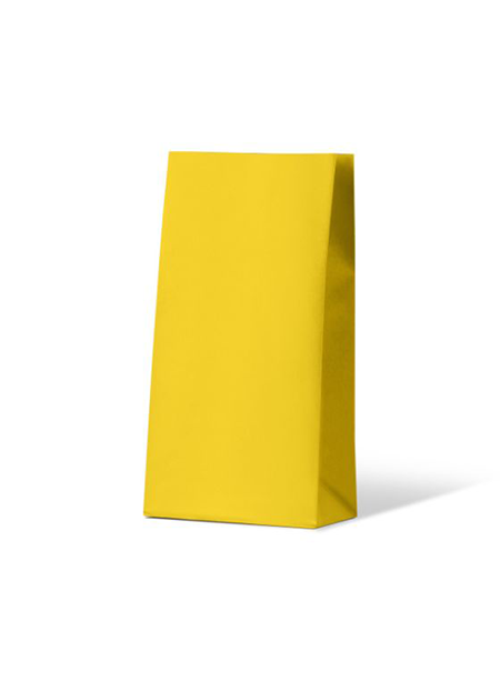 Colourful Gift Paper Bag - Medium - Sunny Yellow