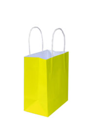 Kraft Bags - Junior - Sunny Yellow