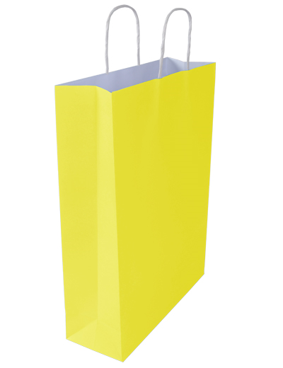 Kraft Bags Small - Sunny Yellow