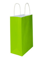 Kraft Bags Midi - Loud Lime