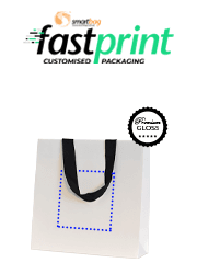 Premium Deluxe Gloss Paper Bags - Medium - Printed