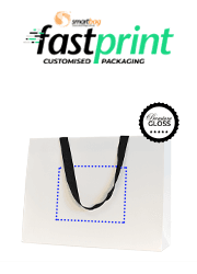 Premium Deluxe Gloss Paper Bags - Extra Large - Printed