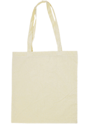 Calico carry bag with long handles