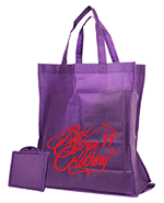Fold away carry bag with rigid base