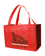 Landscape heavy duty shopping bag
