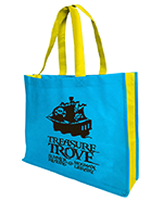 Landscape tote with 10cm gusset