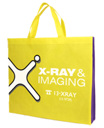 Xray bag with 7cm gusset