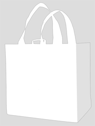 All Purpose Carry Bag - White  (unprinted)