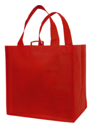 All Purpose Carry Bag - Red  (unprinted)