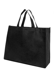 Landscape Tote Bags with 14cm gusset – Black