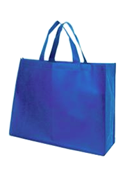 Landscape Tote Bags with 14cm gusset - Electric Blue
