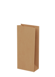 Brown  Kraft Paper - Small Grocery Bags 500/ctn