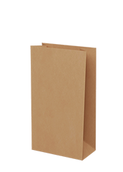 Brown  Kraft Paper - Large Grocery Bags 500/ctn