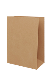 Brown  Kraft Paper  XX-Large Grocery Bags 250/ctn
