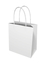 White Paper Bags - Toddler