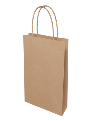 Brown Kraft Paper Bags - Baby