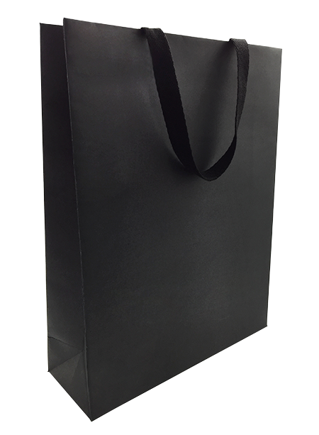 Black Card Boutique Bag - Large 100/ctn
