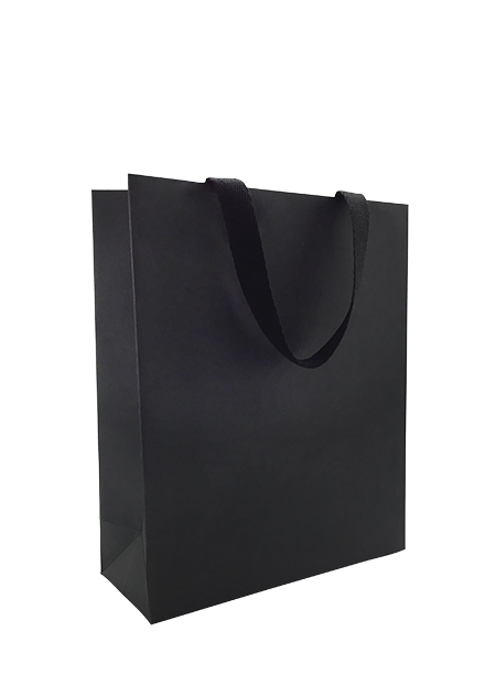 Black Card Boutique Bag - Medium 100/ctn
