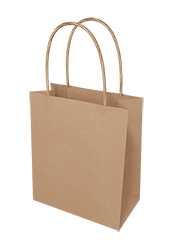 Brown Kraft Paper Bags - Bambino