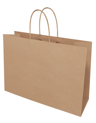 Brown Kraft Paper Bags - Small Boutique