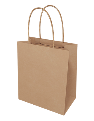 Brown Kraft Paper Bags - Toddler